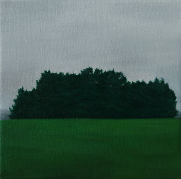Oil on canvas,22X22cm,2011, pr coll