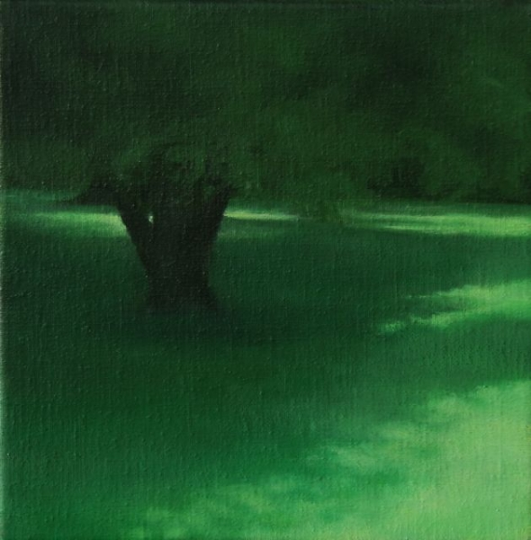 oil on canvas,20X20cm,2011, pr coll