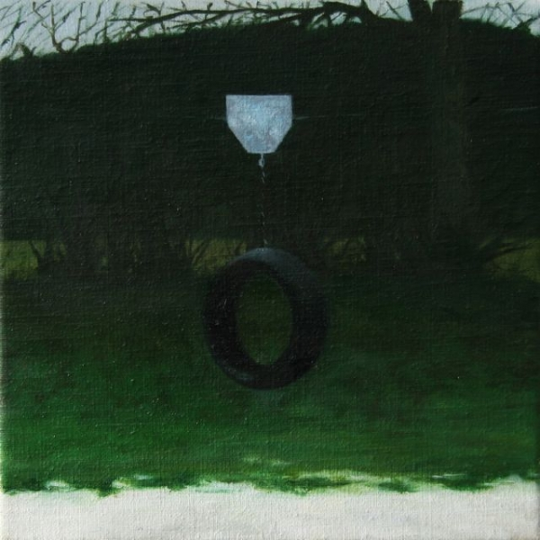 oil on canvas,20X20cm 2012, pr coll