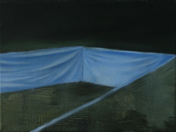 Oil on canvas, 18X24cm, 2011