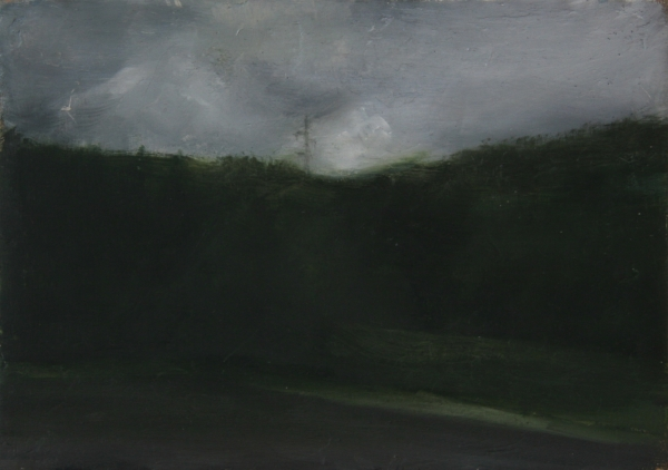 Oil on wood,7X14cm,2010, pr coll